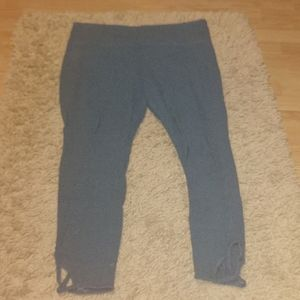 Mossimo supply co. teal leggings